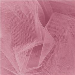 108'' Wide Nylon Tulle Dusty Rose Fabric