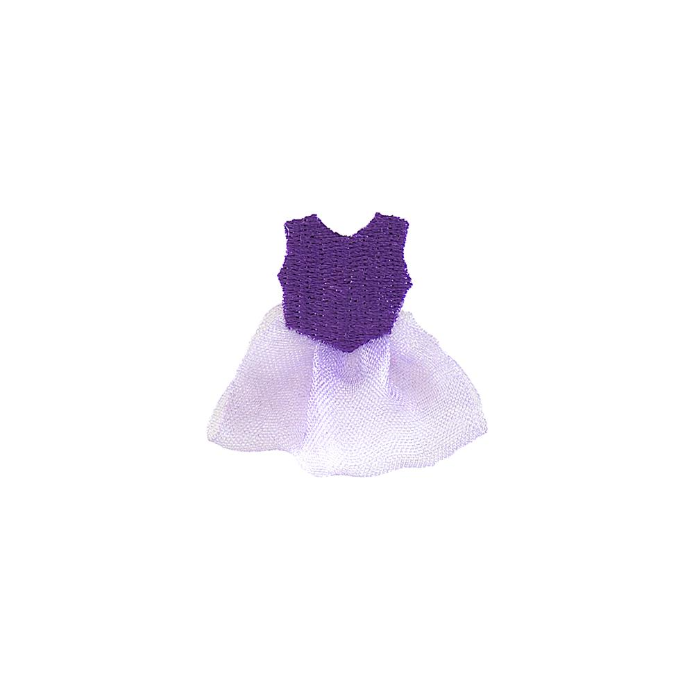 Costume Applique Purple