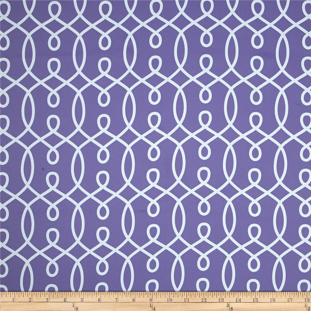 RCA Felicity Blackout Drapery Fabric Purple