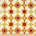 Palm Springs Medallion Orange