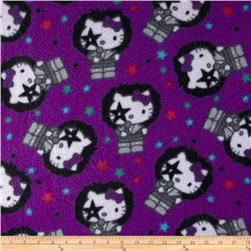 Hello Kittty Fleece Starchild Toss Purple