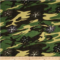 Onion Skin Knit Green Camouflage