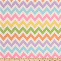 Remix Flannel Chevron Sweet Fabric