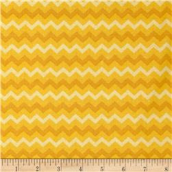 Chevron Tonal Golden Yellow