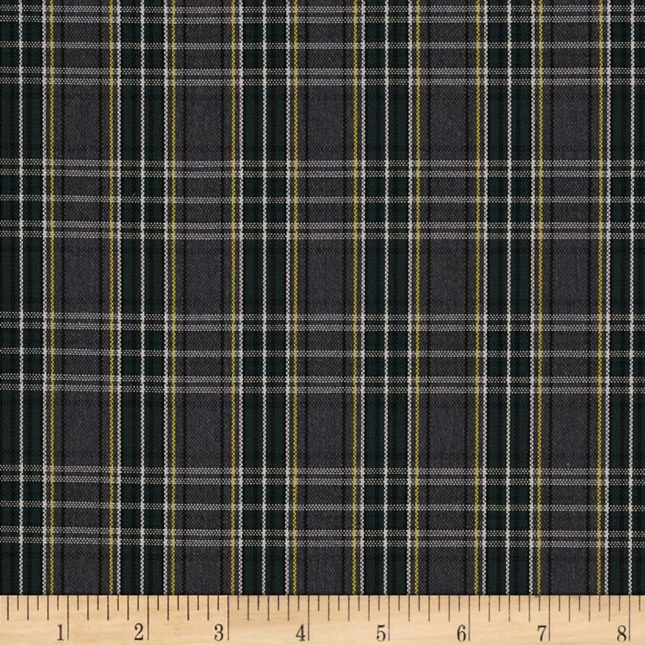 School Uniform Small Plaid Grey/Green