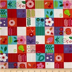 Moda Hello Friend Patchwork Garden Multi