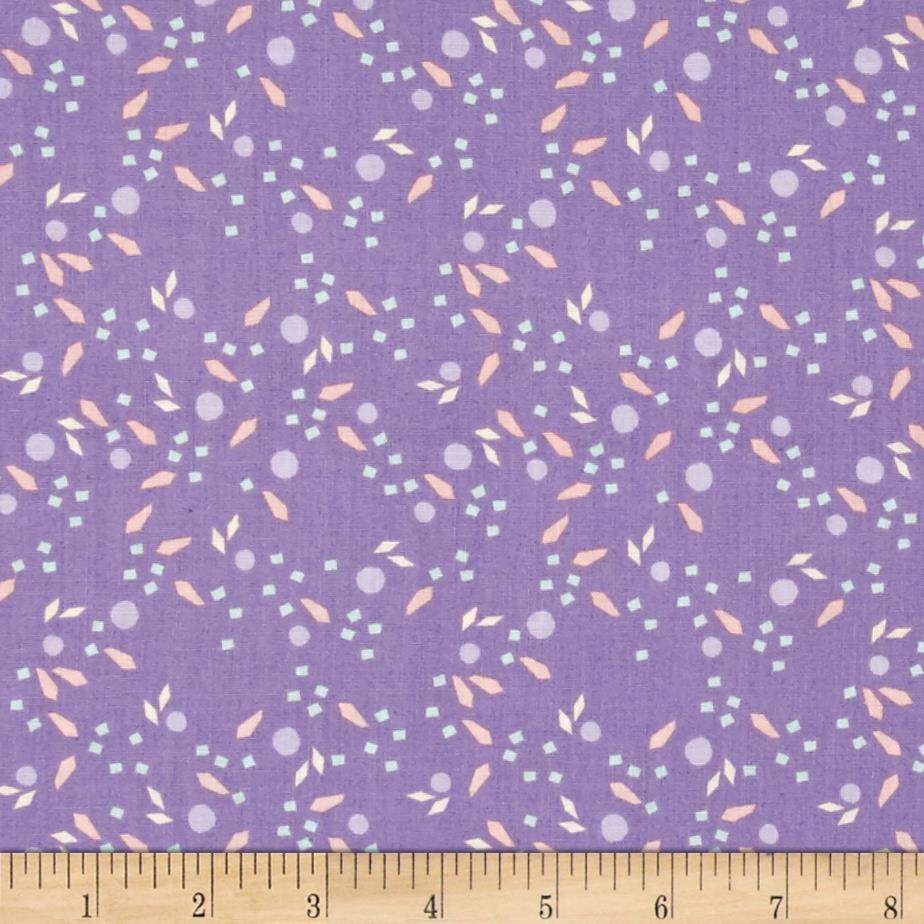 Kaleidoscope Fragments Lilac