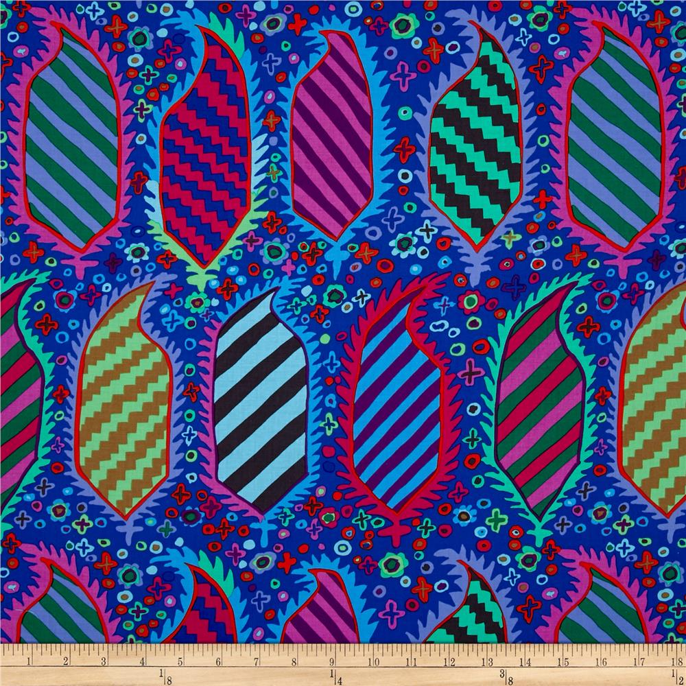 Kaffe Fassett Collective Striped Herald Blue