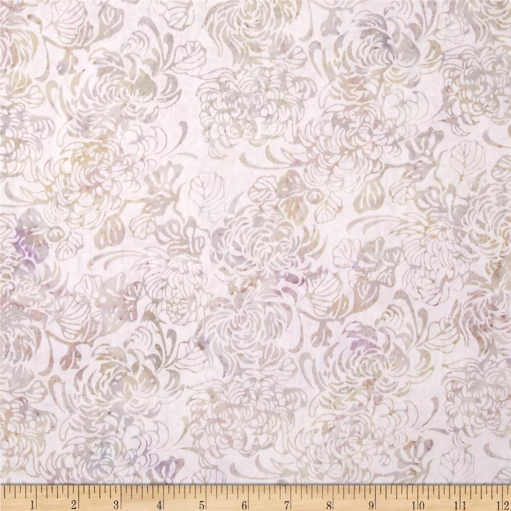 Island Batik Angel Light Lilac Floral