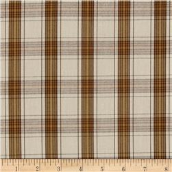 Kaufman Classic Threads Plaid Natural