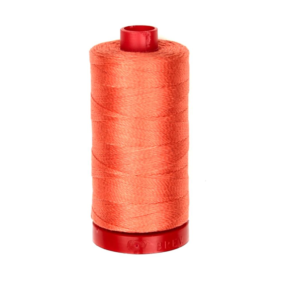 Aurifil 12wt Embellishment and Sashiko Dream Thread Salmon