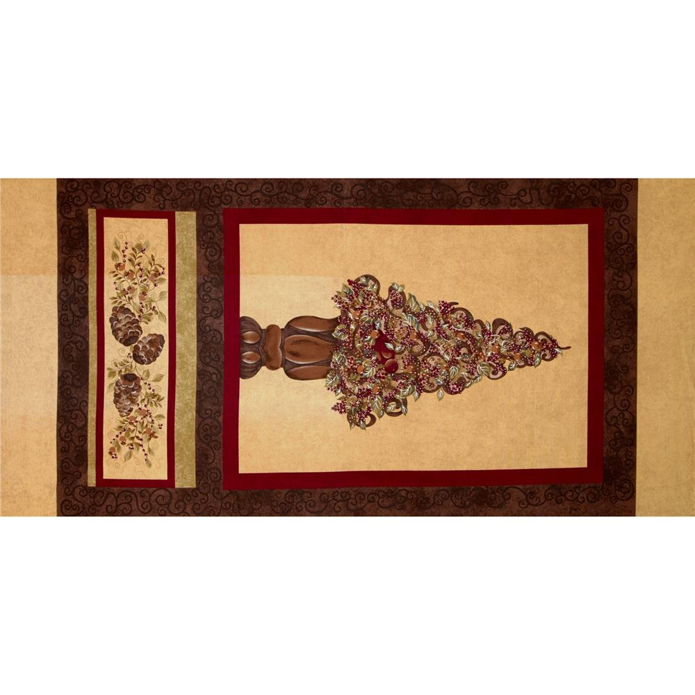 "Riverwoods Tuscany Square 24"" Panel Multi"