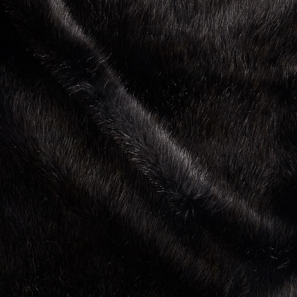 Tissavel Luxury Faux Fur Siberia Black