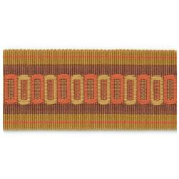 "Fabricut 2.25"" Lavazzo Trim Sunset"