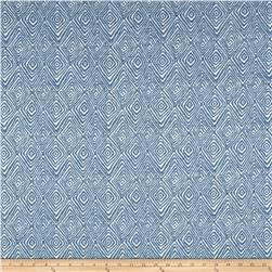 Kelly Ripa Home Set in Motion Chenille Jacquard Bluejay