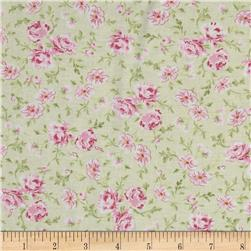 Treasures by Shabby Chic Ballet Rose Small Rose Green