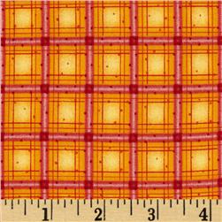 Winter Parade Parade Plaid Red Orange
