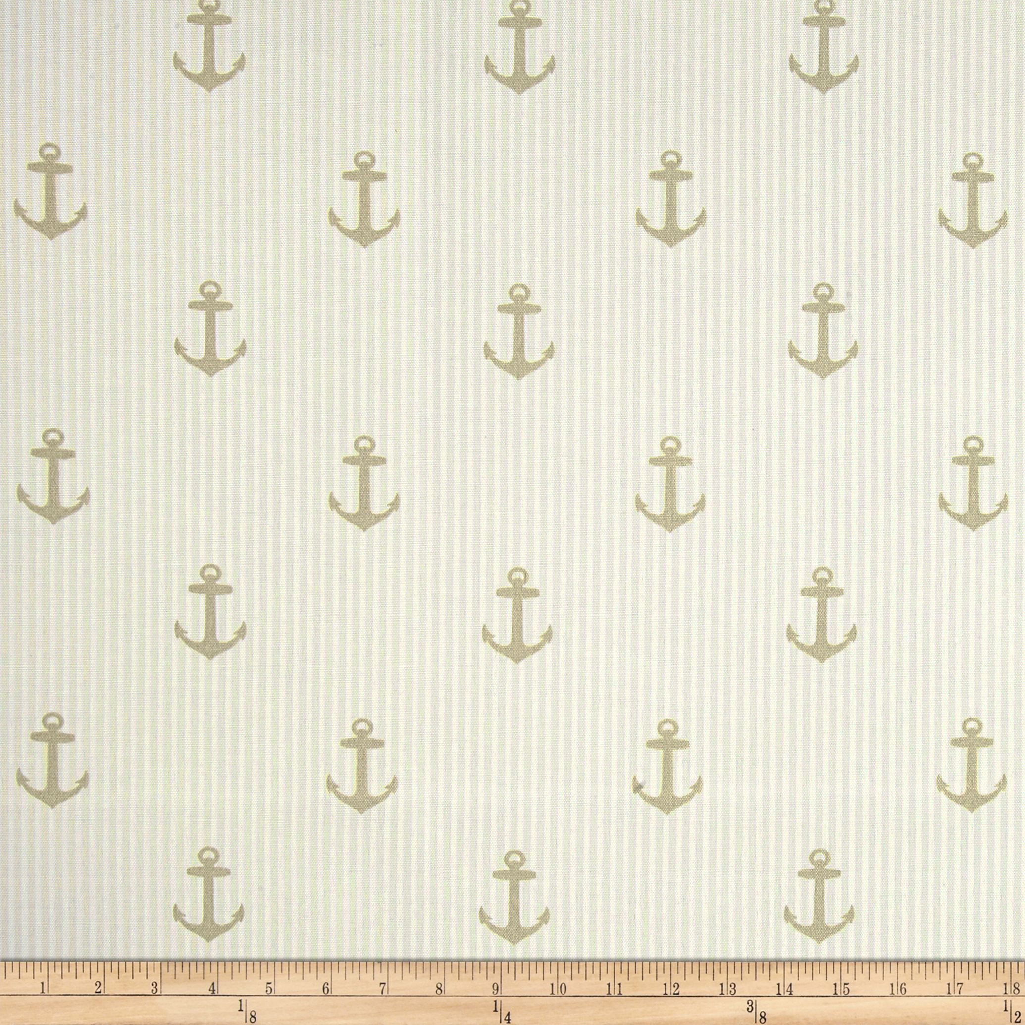 Covington Indoor/Outdoor Anchors Linen Fabric by Covington in USA