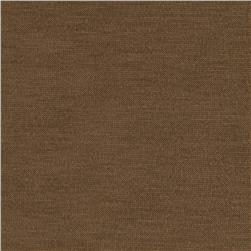 Stretch Jersey Knit Fudge Brown Fabric
