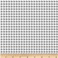 Riley Blake RoseCliff Manor Houndstooth White