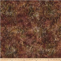 Kaufman Natural Formation Batiks Trees Spice