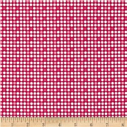 Riley Blake Christmas Basics Dot Red Fabric