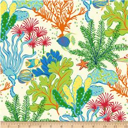 Swavelle/Mill Creek Indoor/Outdoor Splish-Splash Atlantis Fabric