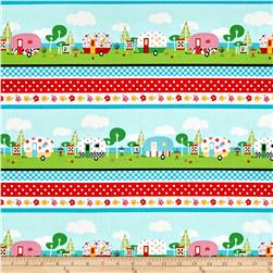 Quilt Camp Novelty Stripe Multi