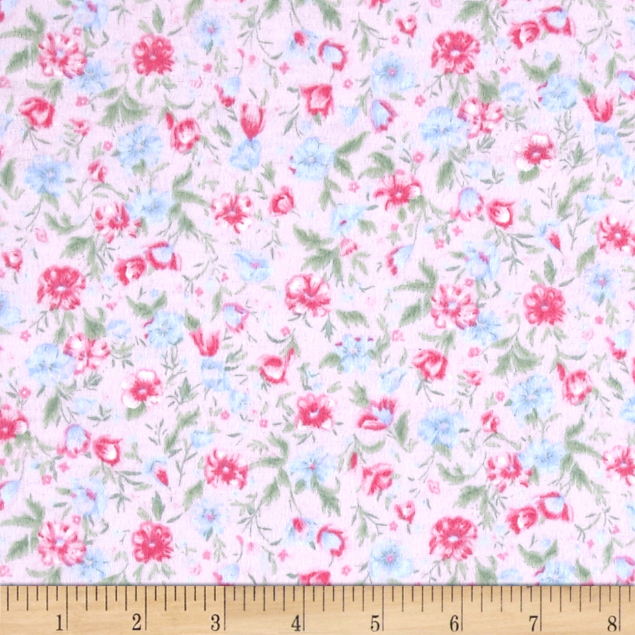 Flannel Sherry Pink Fabric by Newcastle in USA