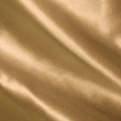 Silky Satin Charmeuse Solid Cappuccino Fabric