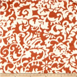 Fleece Print Abstract Brown/White
