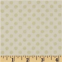 Riley Blake Cream on Cream Small Dot Fabric