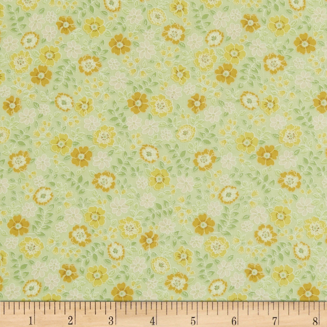 INOpets.com Anything for Pets Parents & Their Pets In The Beginning Fabrics Garden Delights II Garden Blooms Gold