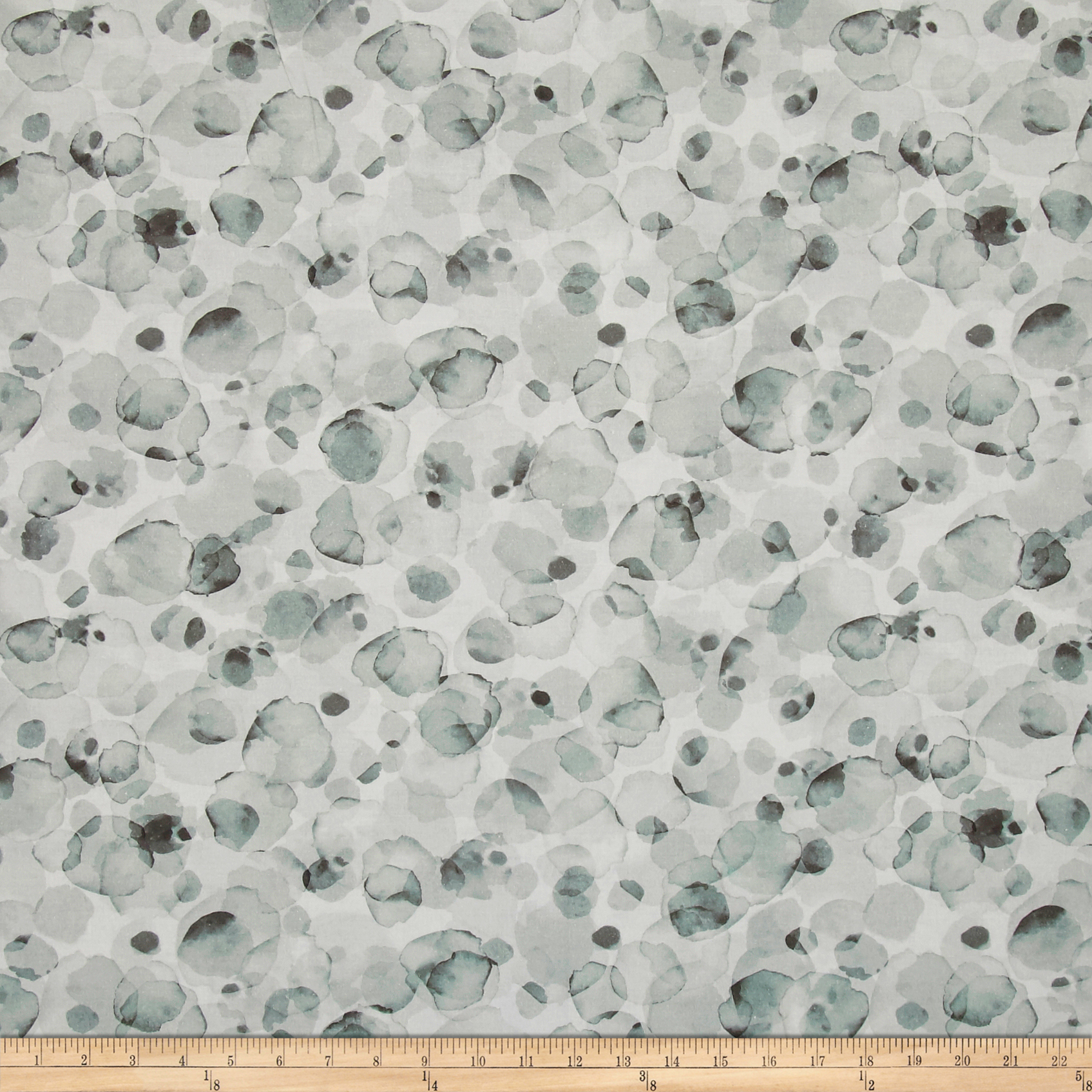 Potpourri Digital 108'' Light Gray Fabric 0514007