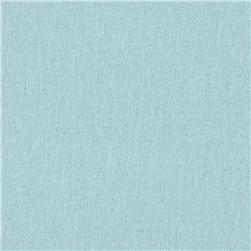 Birch Organic Flannel Solids Sky