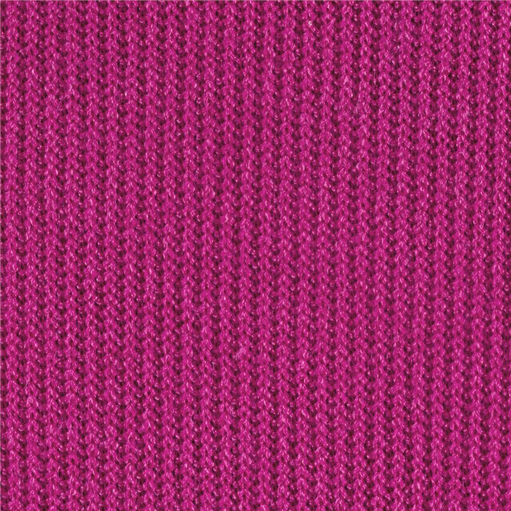 Designer Thermal Knit Fuchsia