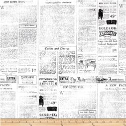 Objects Newspaper Page White