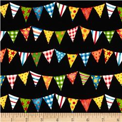 Rhyme Time Flags Black