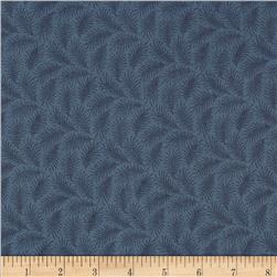 Downton Abbey II Sprig Blue