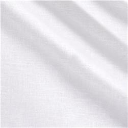 Stretch Linen White
