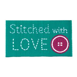 LaMode Lovelabels Stitched With Love