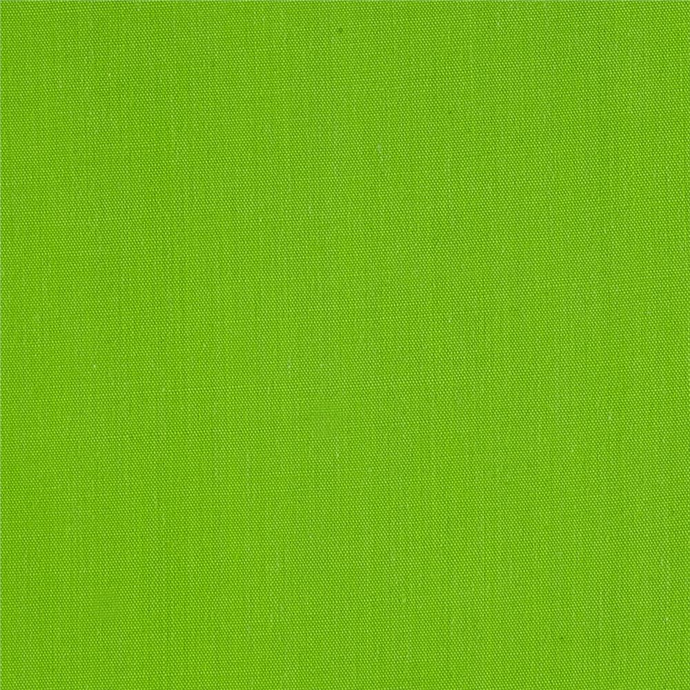 60'' Poly Cotton Broadcloth Lime Fabric By The Yard