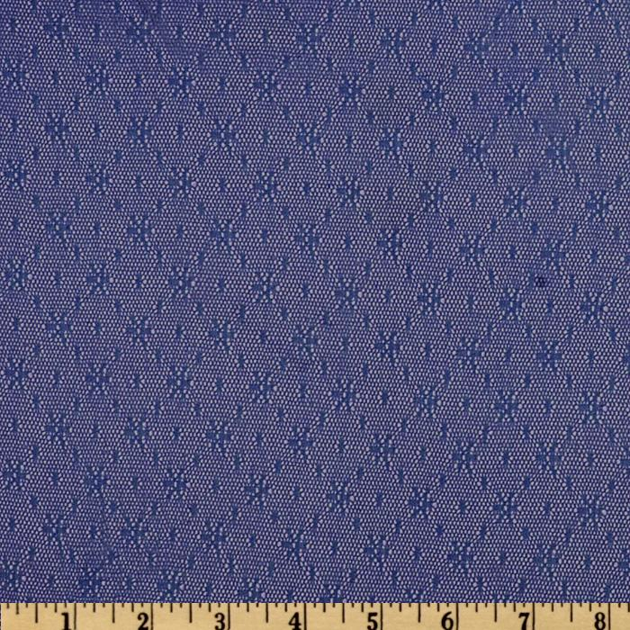 Nylon Dainty Lace Royal