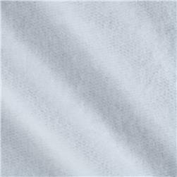 Cotton Jogging Fleece White Fabric