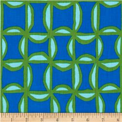 Kanvas Lili-fied Pinwheel Royal Fabric