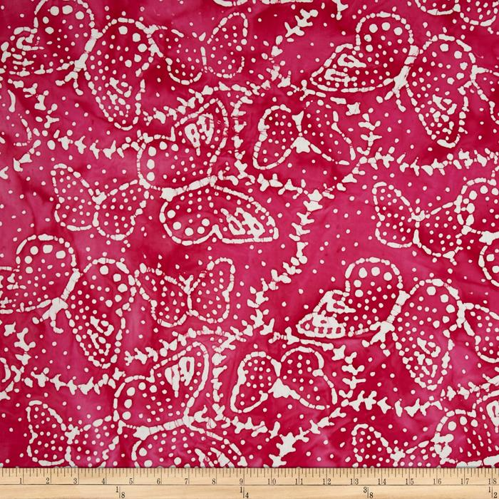 Indian Batik Sarasota Butterfly Pink