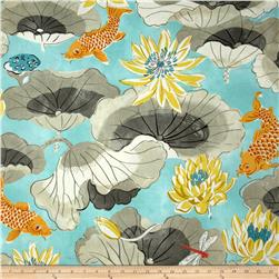 Waverly Lotus Chintz Lake Pool