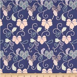 Fabric Freedom Blossom Floral Blue
