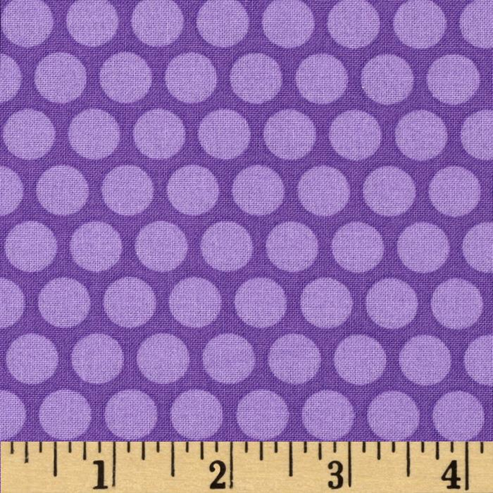 Tone on Tone Dots Purple