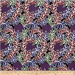 Liberty of London Kensington Crepe de Chine Moonlight Purple/Multi